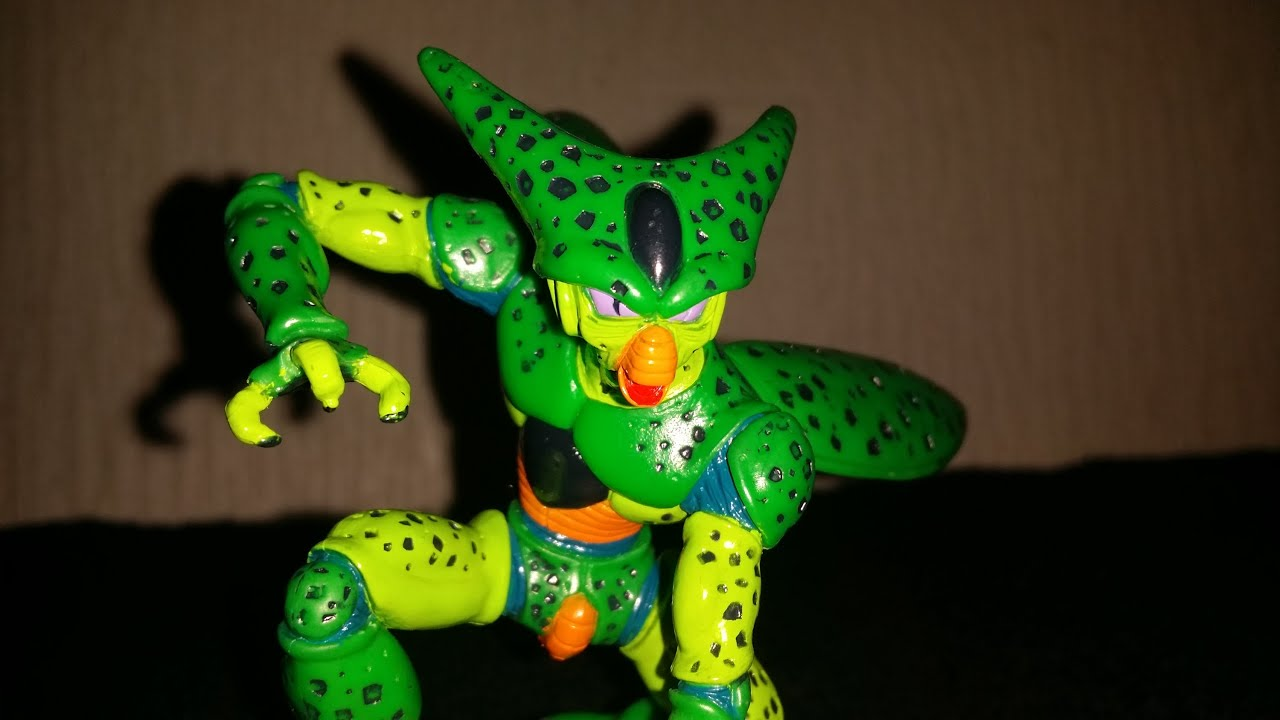 Cell 1st Form BANPRESTO Figure Unboxing Video (Plus Dragonball ...