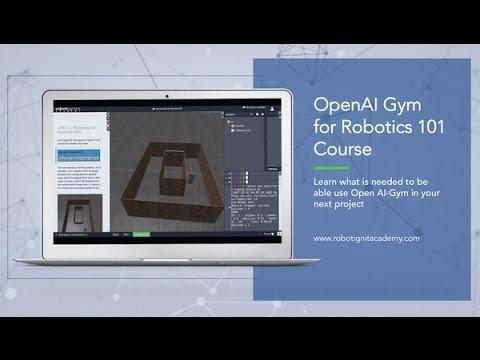 [ROS tutorial] OpenAI Gym For ROS based Robots 101