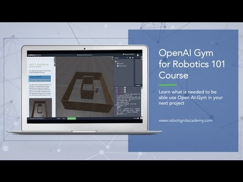 Machine Learning with OpenAI Gym on ROS Development Studio