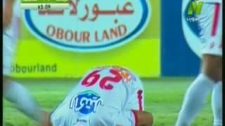بالفيديو.. أحمد رفعت يحرز الهدف الثاني للزمالك فى شباك الداخلية