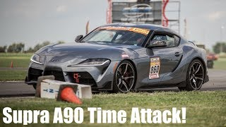 2020 Toyota Supra Time Attack at CSCS! Project TA90 #4