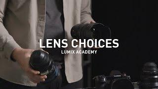 LUMIX Academy S1H | 21 Autofocus and Cinema Lens Options
