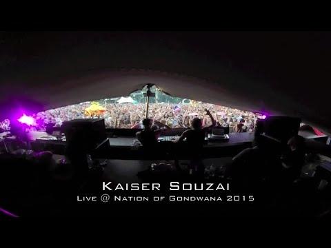 Kaiser Souzai - Live @ Nation of Gondwana 2015