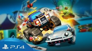 Micro Machines World Series | Battle Mode Mayhem! | PS4