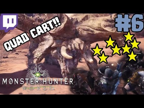 INSTANT QUAD CART! | BEST OF Monster Hunter: World Twitch Highlights! #6