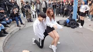 댄스팀 디엠(Diem)/ Gashina(가시나) - SUNMI(선미) 20191215 홍대버스킹 DANCE COVER
