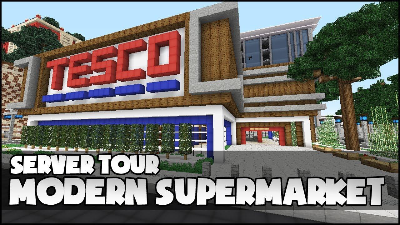 Minecraft Supermarket Youtube