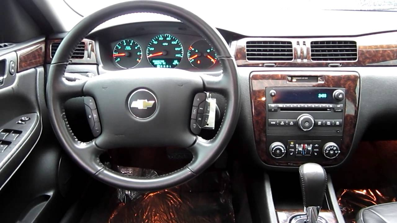 2012 Chevrolet Impala LTZ, Black   Stock# 606592   Interior