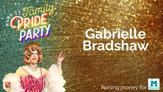 Gabrielle Bradshaw at Mama G's Family Pride Party 2020