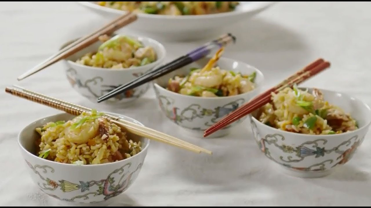 How to make fried rice rice recipes allrecipes youtube how to make fried rice rice recipes allrecipes forumfinder Images