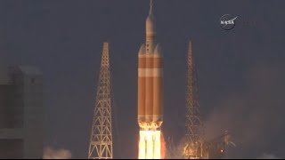 Orion launch multiple camera angles