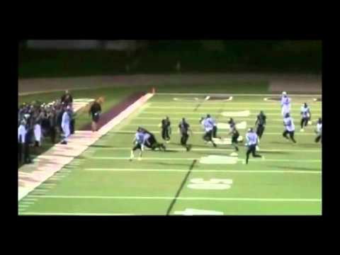 Taylor Loomis 2011 Football Game Footage - Jordan High School / Class of 2012