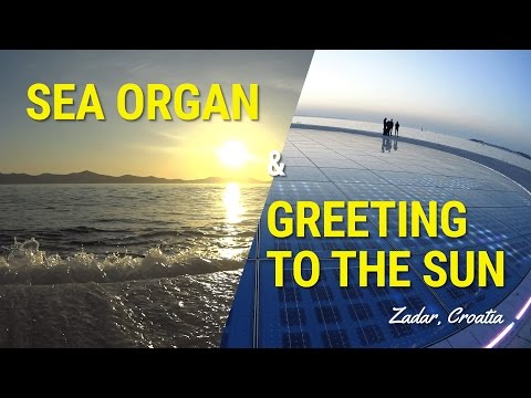 Sea Organ and Greeting to the Sun in Zadar Croatia - Sunset Timelapse Extended Version