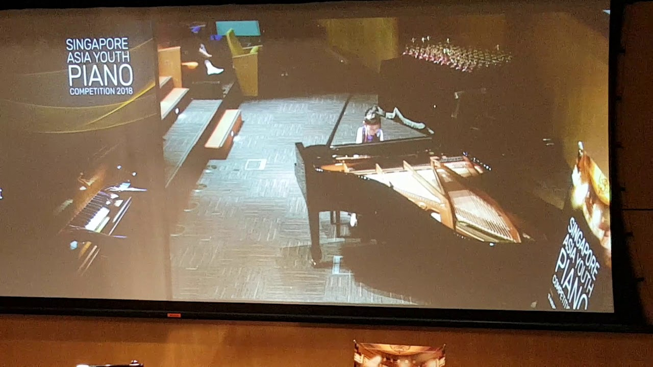 Singapore Asia youth piano competition 2018 junior A