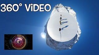 Aletsch Glacier in the Swiss Alps (360 video) - BBC Click