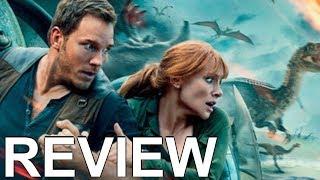 Jurassic World Fallen Kingdom Review - NO Spoilers