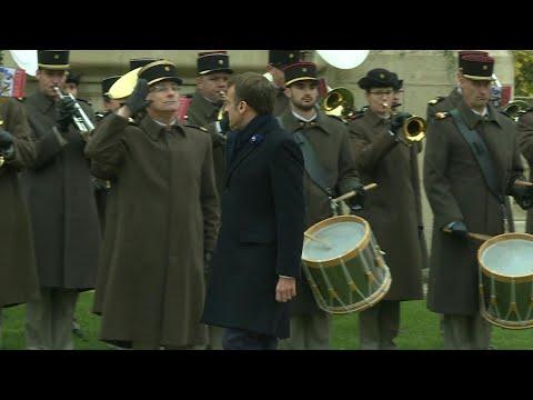 Macron au Mémorial