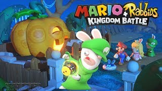 Mario + Rabbids Kingdom Battle 100% Walkthrough Part 3 - WORLD 3 SPOOKY TRAIL All Level All Bosses