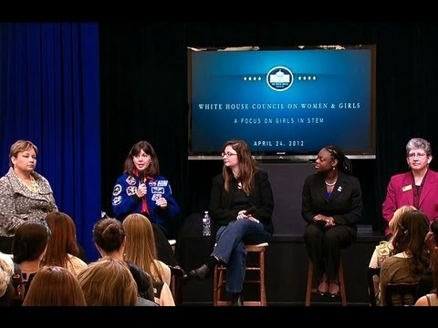 White House Council on Women and Girls: A Focus on Girls and STEM