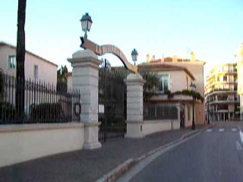 Parcours:  Beaulieu sur mer à Nice.