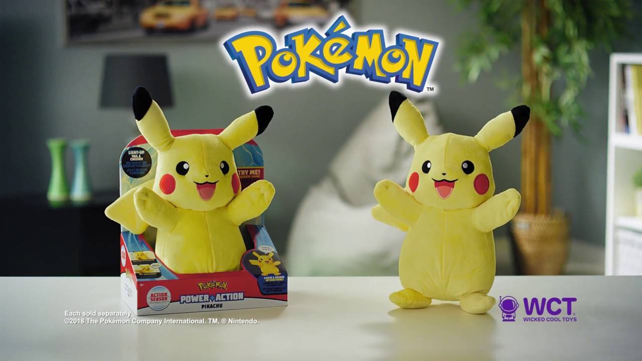 Pokémon Figures, Plush & more Available Now by Wicked Cool Toys