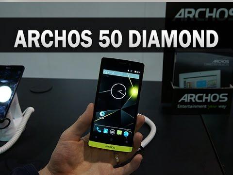 Archos 50 Diamond, prise en main au CES 2015 - par Test-Mobile.fr