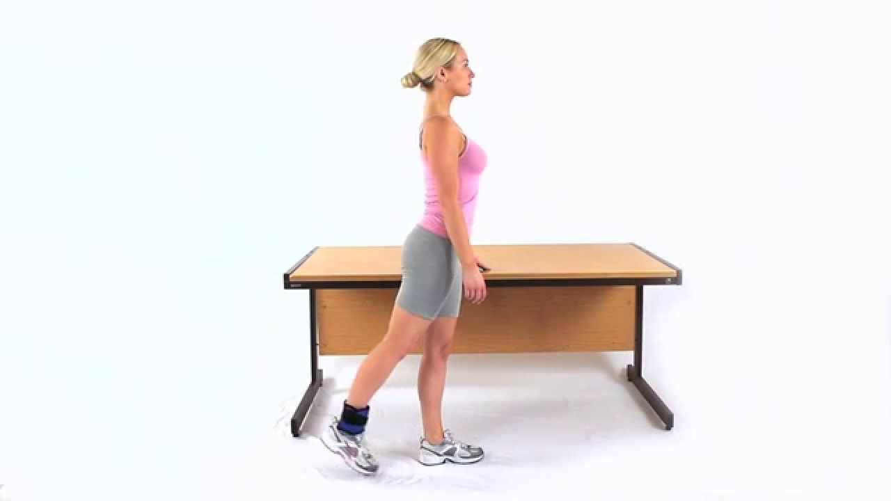 how to get hip extension running