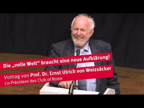 Vortrag von Prof. Dr. Ernst Ulrich von Weizsäcker (Club of Rome)