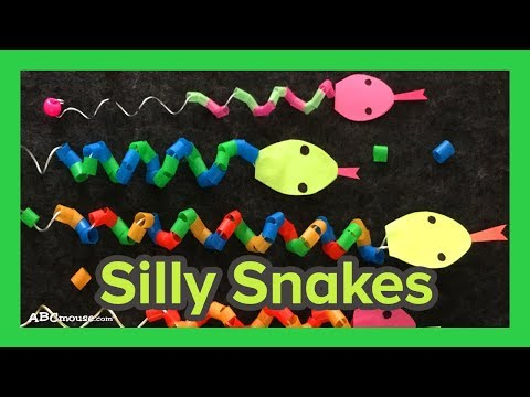 Art Activity for Kids: Silly Snake Craft by ABCmouse.com from YouTube · Duration:  1 minutes