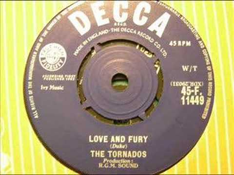love and fury  the tornados
