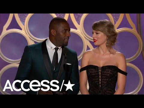 Teri Ann - Taylor Makes Surprise Appearance At Golden Globes!