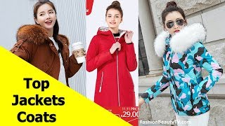 Top 50 Best Jackets and Coats for Women | Best Parkas for Ladies S4