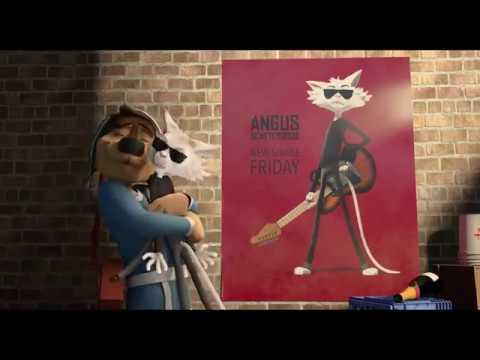 Rock Dog   2 2017 Luke Wilson, Eddie Izzard Animated Movie HD