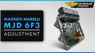 Magneti Marelli MJD 6F3 (Fiat Grande Punto) ECU Adjustment with Immo Bypass