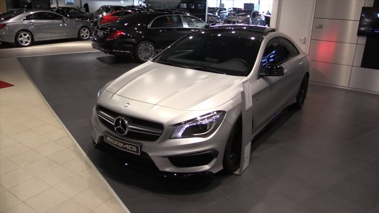 Mercedes Benz mercedes benz cla 45 : Mercedes-Benz CLA 45 AMG 2015 In Depth Review Interior Exterior ...