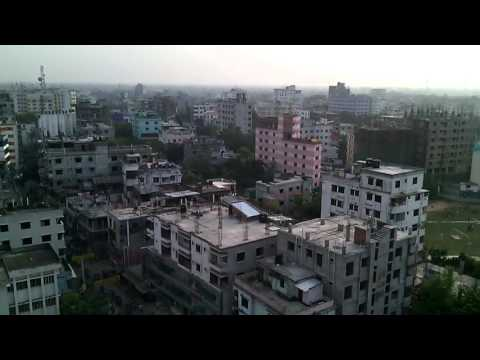 View of Bogra Town