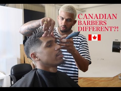 ARE CANADIAN BARBERS GOOD? (MONTREAL X TORONTO) #Damps
