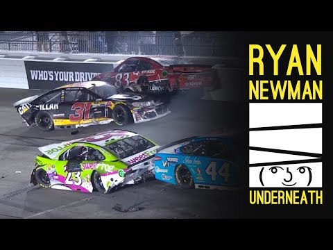 Ryan Newman Likes Being On Bottom