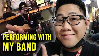 "My Weekly Gig (Live Performance with my band ""All In"") GUAM VLOGGER"