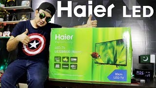 Haier LED LCD Tv 32 inch LE32B8000 Daraz Pk | Unboxing Review | Gadgets Gate
