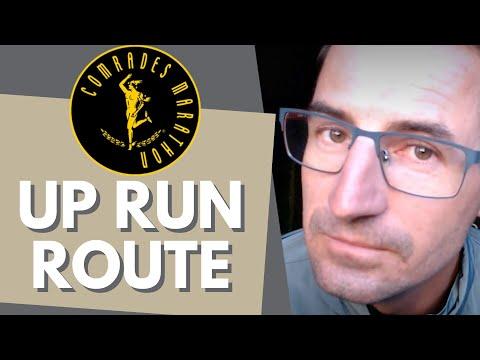 The Comrades Marathon Up Run Route Profile