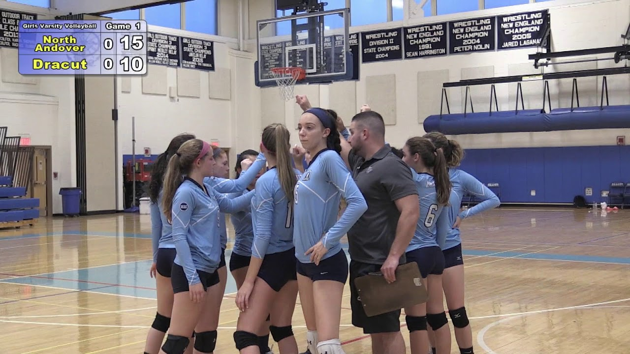 Volleyball vs. North Andover 10-23-17 - YouTube