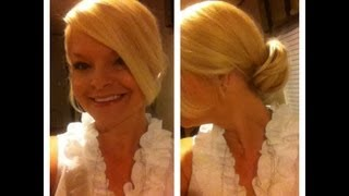 Quick and Easy Updo - Super Easy :) Thumbnail