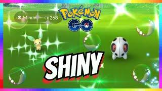 SHINY ARON + SHINY MINUN & PLUSLE CATCH at Pokemon Go Fest 2018!
