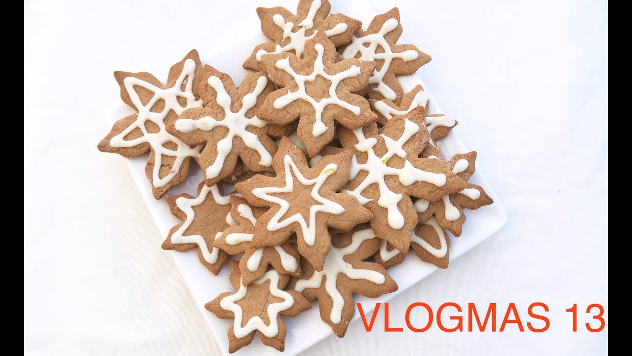 Vlogmas 13 Spiced Christmas Biscuits Christmas Shopping Natalie Danza