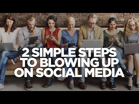 Two Simple Steps To Blowing Up On Social Media - The Lead Magnet With Frank Kern