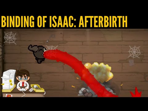 Binding of Isaac Afterbirth Custom Challenges Part 1: Brimstone My Reflection.
