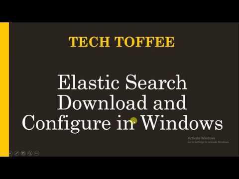 Elasticsearch Download Configure in Windows