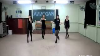 Secret- Madonna Dance by the B. Girls Mirorred Version Resimi