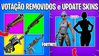 FORTNITE-NEW VOTING ITEMS REMOVED, FREE STYLE and NEW SKIN?